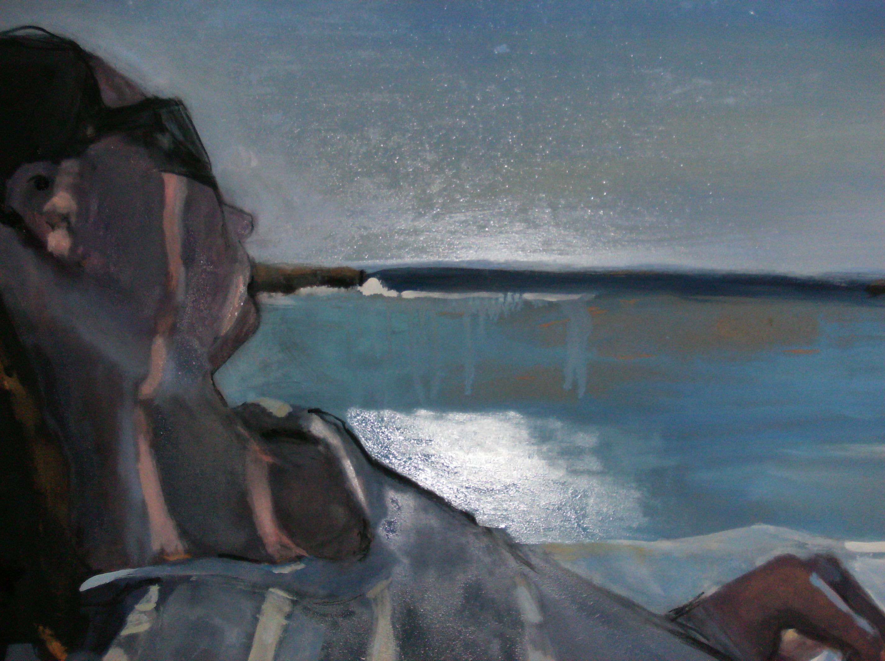 Hedvig og havet, detalj, 2008