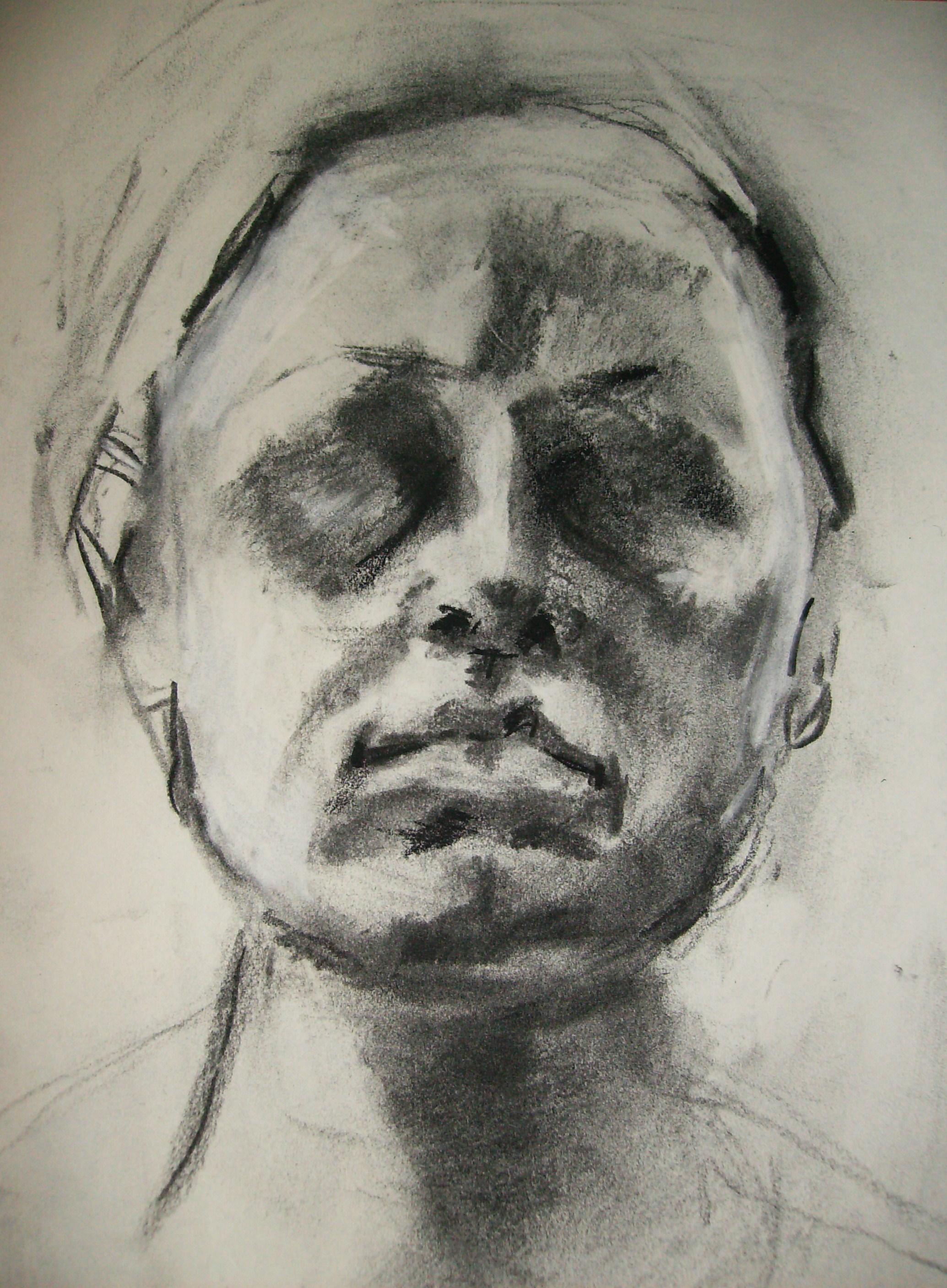 selvportrett, 2009